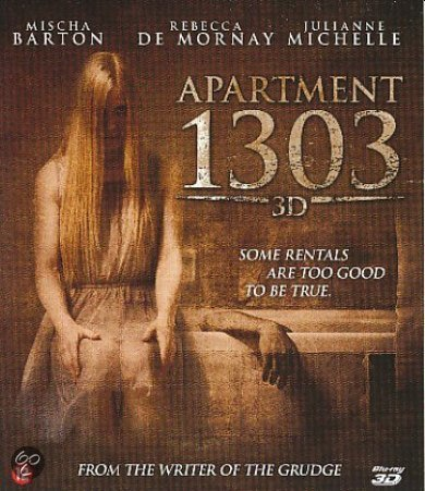 Apartment 1303  3D Blu-ray Apartment 1303 3d