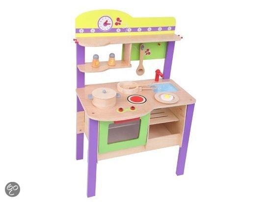 Keuken Hout Speelgoed : bol.com Houten speelgoed keuken deluxe,None Speelgoed