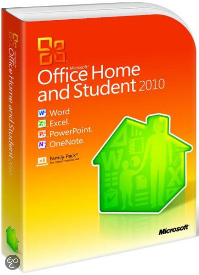 Microsoft Office Home And Student 2010 - 32-Bit/X64 / Engels / DVD