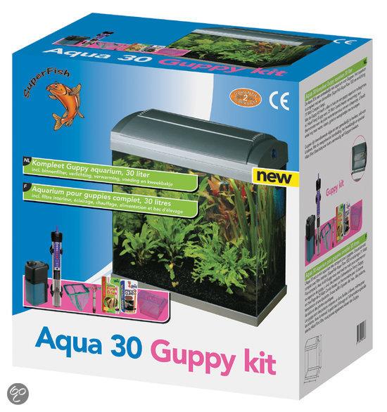 bol com   SUPERFISH Aquarium Superfish aquarium aqua guppy 30 zilv   Dier
