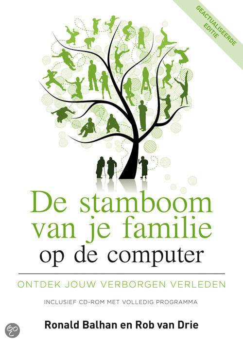 De stamboom van je familie op de computer  + Cd-rom