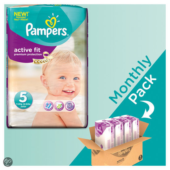 Pampers Active Fit - Maat 5 Maandbox 136 st.