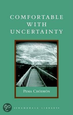 Bol Com Comfortable With Uncertainty Pema Chodron