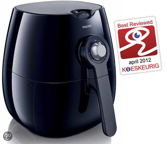 Philips Viva Airfryer HD9220/20 Friteuse - Zwart