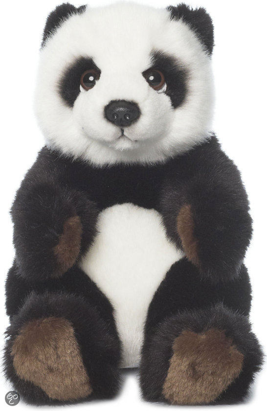 bol com   WWF Panda Zittend   Knuffel   15 cm,Wereld Natuur Fonds