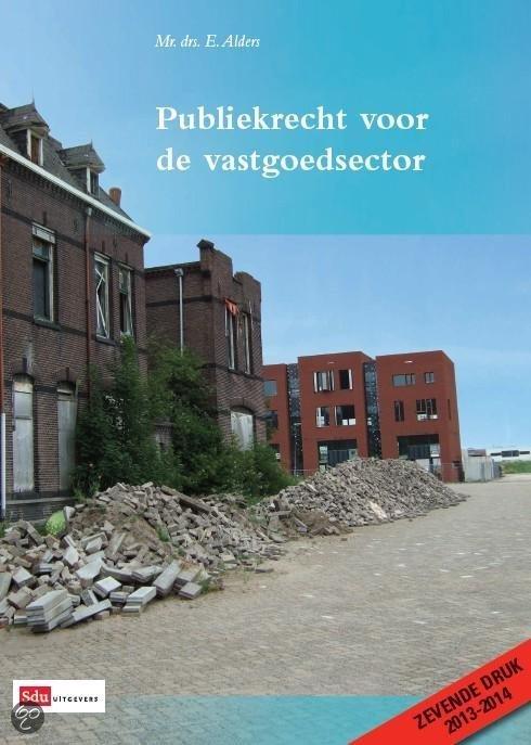 Publiekrecht voor de vastgoedsector / 2013-2014