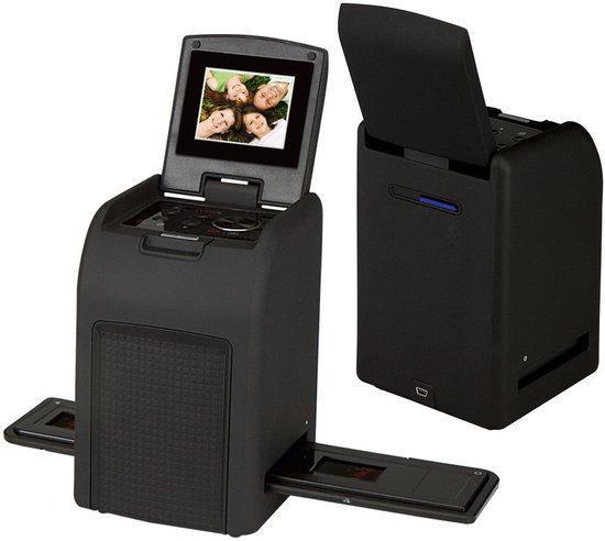 Mettle Dia en Negatief Scanner met LCD scherm