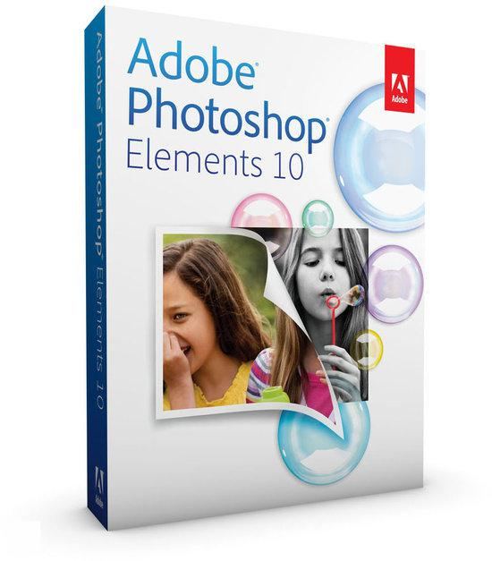 Adobe Photoshop Elements 10 - Engels / WIN / MAC