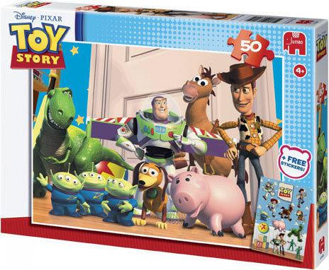 Jumbo Puzzel - Toy Story + Stickers