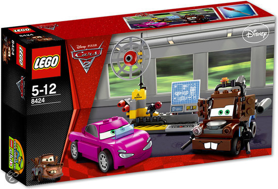 LEGO Cars 2 Takels Spionnenafdeling - 8424 in Mechelen