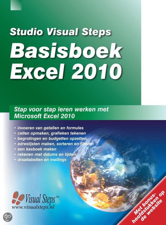 Basisboek Excel 2010