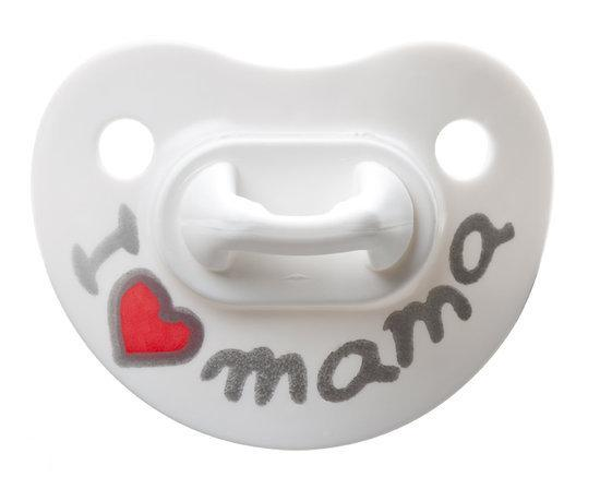 bibi - Fopspeen Mama 1e Dag - Zonder Ring