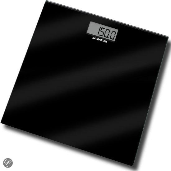 Inventum Personenweegschaal PW406GB - Zwart