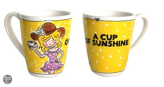 Blond Amsterdam A Cup of Blond - Mok - 'A Cup of Sunshine'