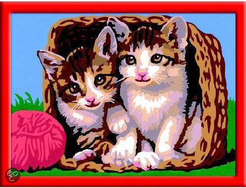 Schilderen Op Nummer Katjes