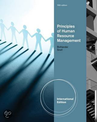 principles of human resource management Human resources management evolved from the task-oriented nature of personnel administration in the 1980s and 1990s to a strategy-focused extension of the.