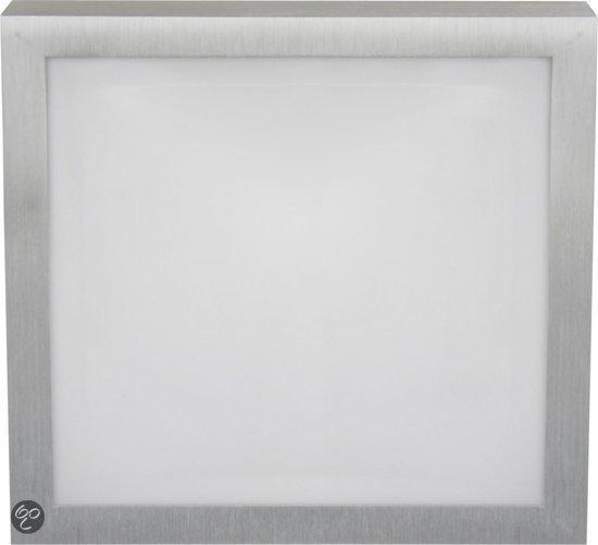 bol.com  XQ-Lite - Plafonniere - Badkamer - LED - Vierkant - Grijs ...