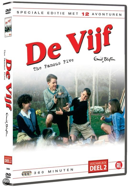 Vijf (Famous Five) - Verzamelbox 2 (3DVD)