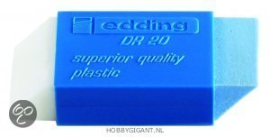 Gum DR20 wit-blauw van Edding in Kiesterzijl / Kiestersyl