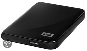 Western Digital My Passport Essential - USB 3.0 / 500GB / Zwart
