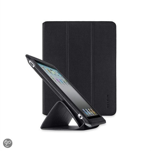 Belkin Trifold Folio Etui voor de Apple iPad 2 - Zwart