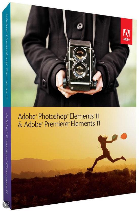 Adobe Photoshop Elements 11 + Premiere Elements 11 - WIN / MAC / Engels