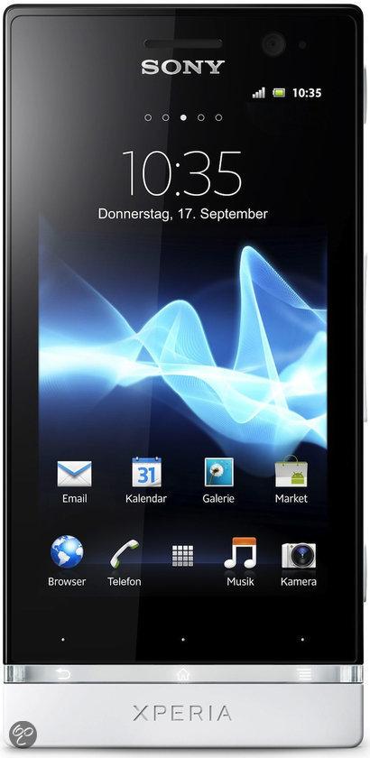 Sony Xperia U - Zwart/wit