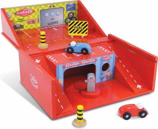 Houten Garage Speelgoed : ▷ supercool speciale houten speelgoed garage met auto s en