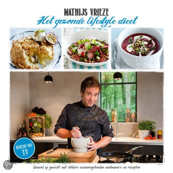 Cover Mathijs Vrieze Het gezonde lifestyle dieet
