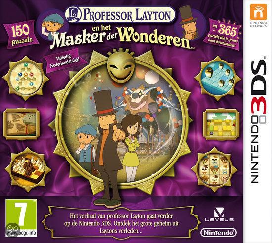 Professor Layton: En Het Masker Der Wonderen