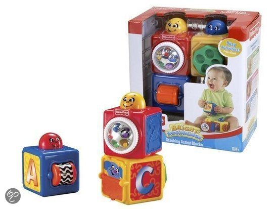 Fisher-Price Baby Speelen Stapelblokken