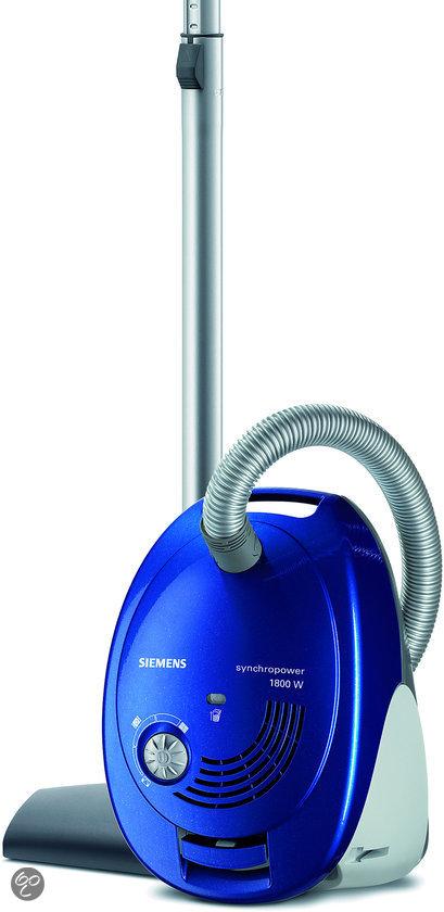 Siemens VS06G1802 - Stofzuiger Blauw