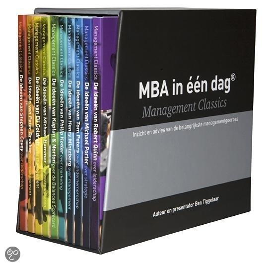 MBA in een dag - Management Classics