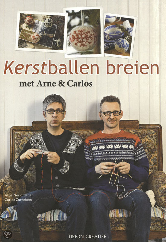 Kerstballen Breien