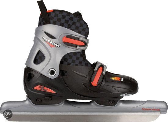 Nijdam Junior Norenschaatsen Verstelbaar - Hardboot - Maat 34-37