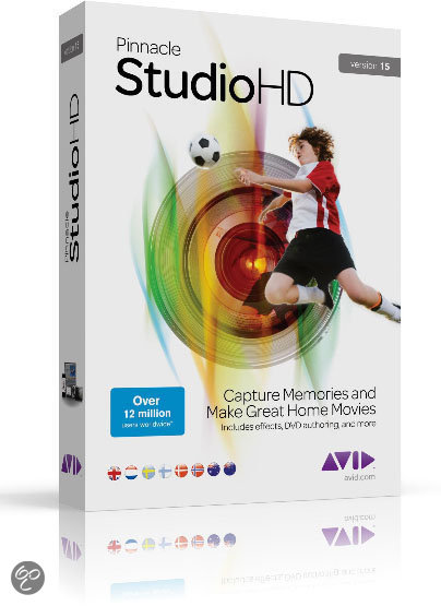Pinnacle Studio HD 15 - Nederlands