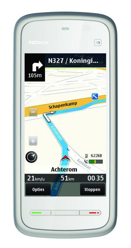 Nokia 5230 (navigatiepakket) - Wit/Zilver