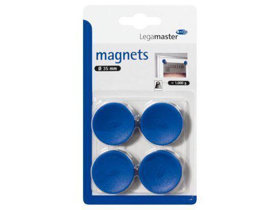 Whiteboardmagneten 35mm Blauw Rond Lega in Hotton