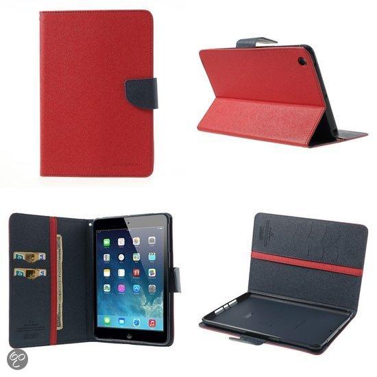 Mercury fancy diary serie book case hoesje rood kunststof voor apple - Kleur rood ruimte ...