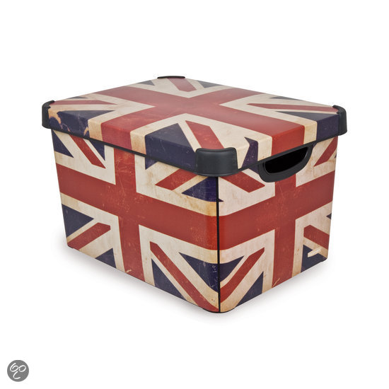 Curver Deco - Stockholm Opbergbox L - Union Jack