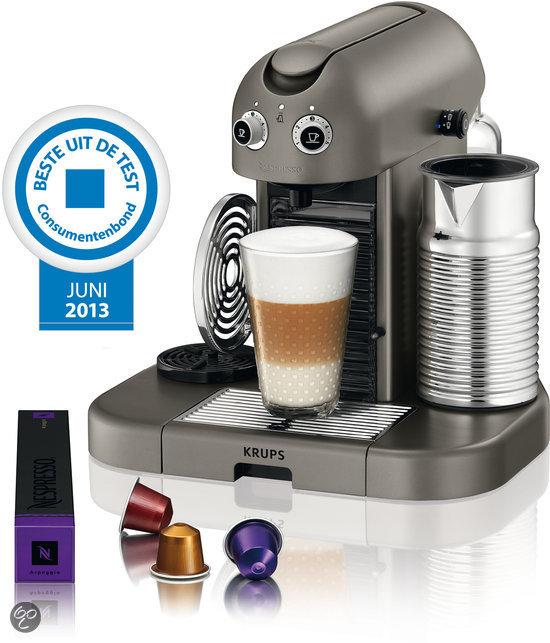 Krups Nespresso Apparaat Gran Maestria XN8105 - Titan