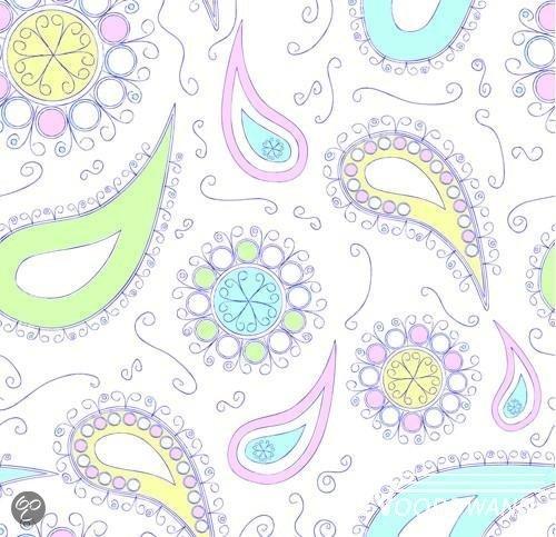 Fotobehang Keuken Achterwand : bol.com Noordwand Behang Little ones Pastel Paisley fotobehang