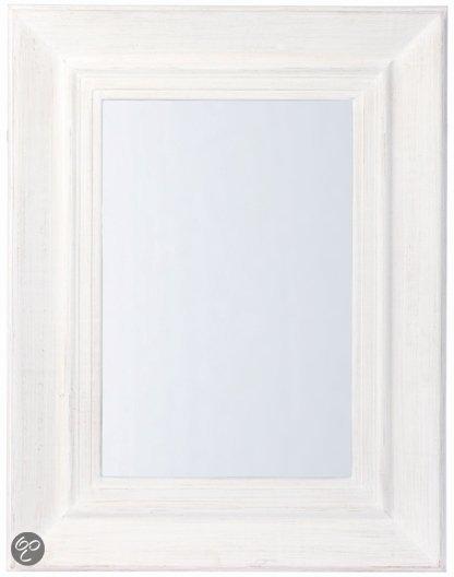 Riverdale paris rechthoek spiegel wit for Spiegel 70x90