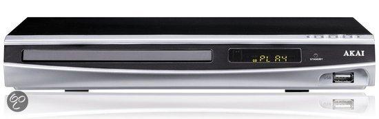 Akai AD70H - DVD speler met HDMI aansluiting - Zilver