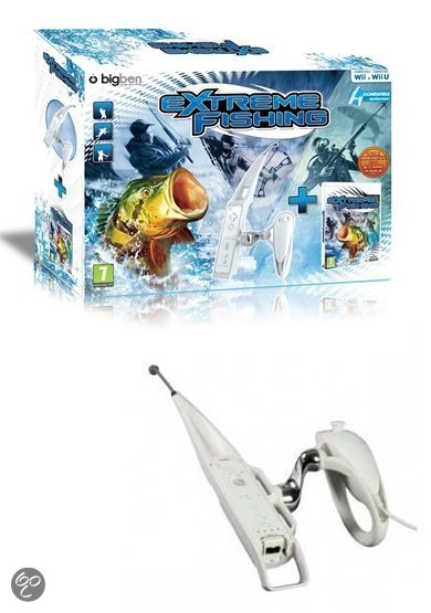 Extreme fishing rod bundel wii wii u wii for Wii u fishing game