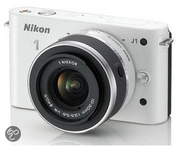 Nikon 1 J1 + 10-30mm NIKKOR VR - Wit