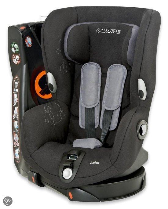 maxi cosi axiss autostoel total black baby. Black Bedroom Furniture Sets. Home Design Ideas