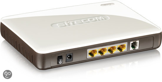 Sitecom N300 X4 Wireless Gigabit Modem Router