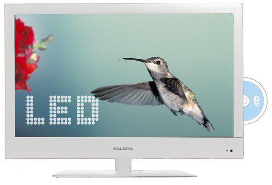 Salora LED2227FHDVX-WH - LED TV-/Dvd-combo - 22 Inch - Full HD