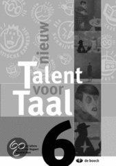 Nieuw talent voor taal aso 6 - werkboek